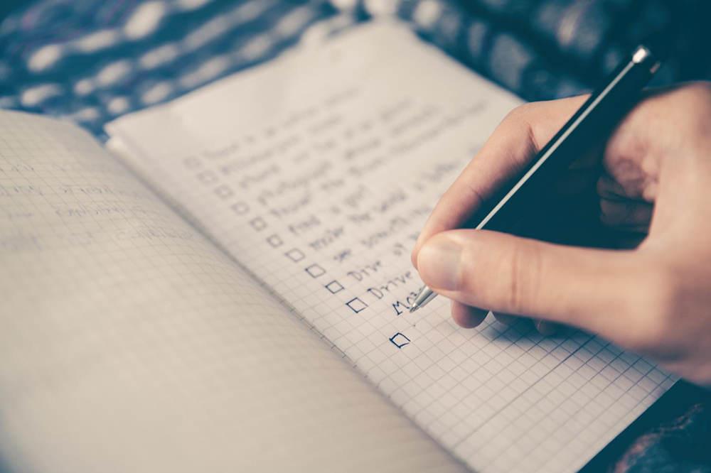 如果你想成功的话,可以列出这8个清单